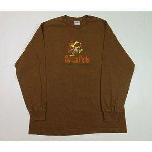 Vintage Alstyle XL Cocoa Shirt Cotton Brown L/S
